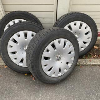 VWポロ スタッドレスタイヤ 冬タイヤ YOKOHAMA ice...