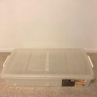 【譲ります】ベッド下収納ケース(5ケース)