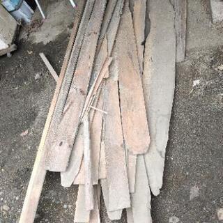 古い建材  薪  焚き付け