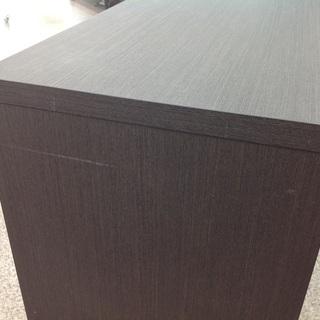 【アウトレット】 丸繁木工 3段ローチェスト − 神奈川県