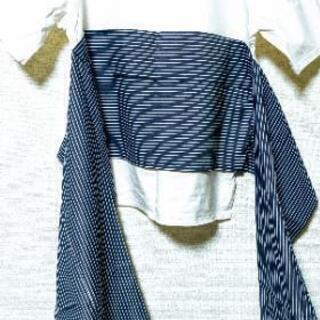 【帯風リボンT】シンプル&個性的デザインTシャツ