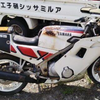ヤマハ カワサキ バイク3台