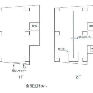 ★☆ 倉庫 ☆★  大阪市北区大淀南 55坪 #倉庫