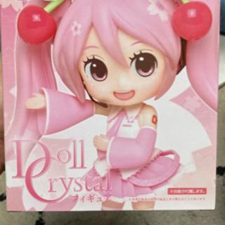 【ネット決済】【箱付き】Doll Crystal 桜ミク