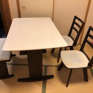 限定◆今だけおまけの椅子付き!ダイニングテーブル 長椅子 セット
