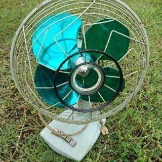 古い扇風機です。