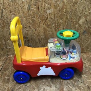 K0728-8 ミッキー 車 カー おもちゃ 乗用玩具