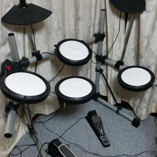 電子ドラム (中古パーツを寄せ集めたセット)