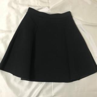 ブラック ボンディングスカート