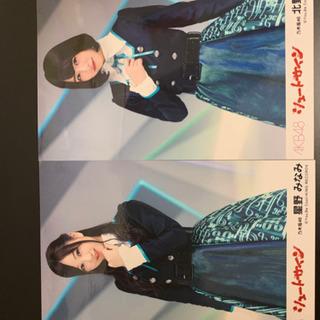 乃木坂46&AKB48 シュートサイン 生写真