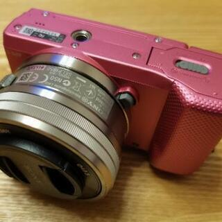 SONY α5000 レンズ交換式デジタルカメラ