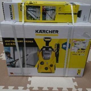 新品の高圧洗浄機  ケルヒャーK3 サイレント60ヘルツ