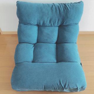 1人用ソファー  ターコイズブルー