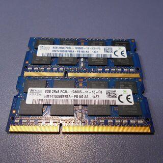 SKhynix 16GB DDR3 PC3L-12800S 8G...