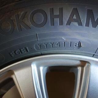 【引き渡し調整中】2018年製 ホイール付きスタッドレスタイヤ  YOKOHAMA ice GUARD 5 PLUS 145/80R13 75Q - 車のパーツ