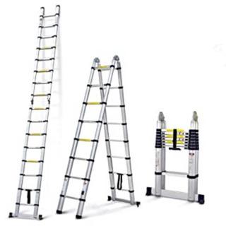 伸縮タイプのはしご兼脚立6.2m