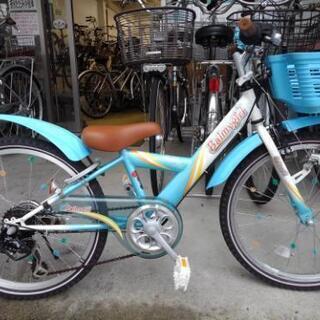 中古子供自転車1141 ブリヂストン バーミィガール 22インチ...