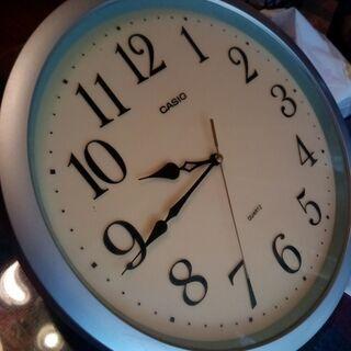 【ネット決済・配送可】BG壁掛け時計