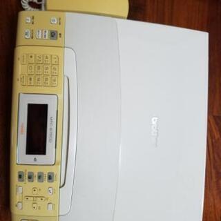 貰ってください。ブラザーのFAX電話機スキャナープリンター複合機