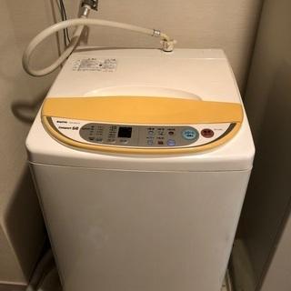 【引取り決定】SANYO 6kg 洗濯機 【ASW-A60…