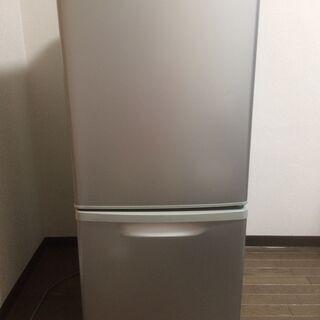 パナソニック 2ドアノンフロン冷凍冷蔵庫138L