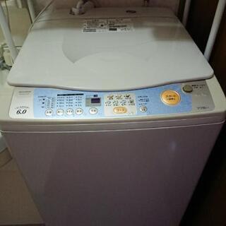 格安で☆MITSUBISHI 三菱 全自動洗濯機 6kg
