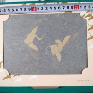 電報の漆塗りケース【紙の外箱あり】②➕
