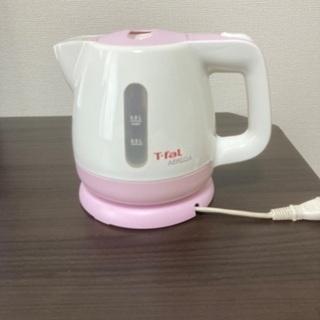 値下げ♪T-fal ティファール電気ケトル ピンク
