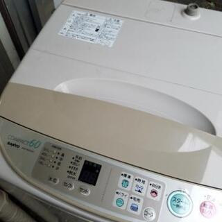 SANYO COMPACT60 洗濯機 2000年製 0円