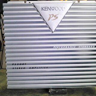 KENWOODの車載用パワーアンプKAC-PS300T美品