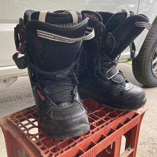 スノーボード ブーツ 24.5 黒