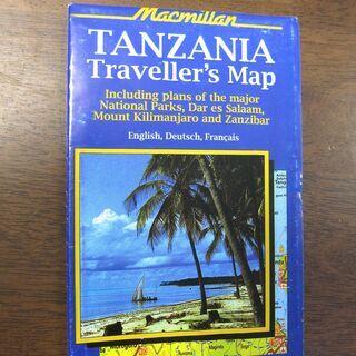TANZANIA Traveller's Map