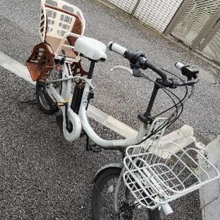 電動アシスト自転車(ブリヂストン 3人乗り用、チャイルドシート一...