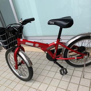 再値下げ!子供用 ジープの自転車です。