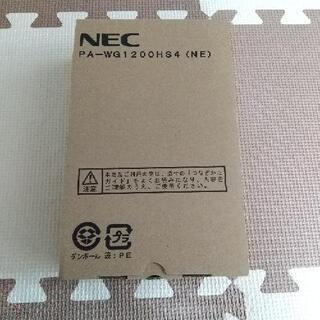 Wi-Fi ルーター NEC PA-WG1200HS4(NE)
