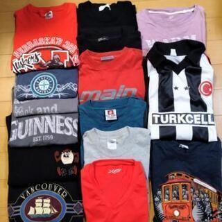 メンズ服Tシャツまとめうり15枚