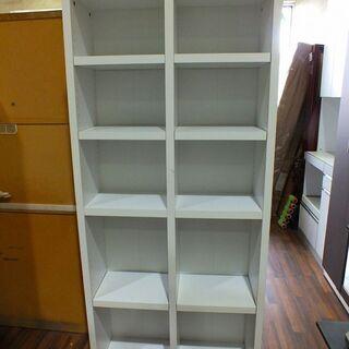 【苫小牧バナナ】オープン本棚 高さ変更が出来る可動棚付き …
