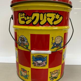 【レア商品】ビックリマン バケツ缶(大)9弾キャラ