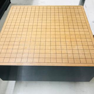 〈〉黒漆塗り 碁盤 足つき 囲碁 工芸品