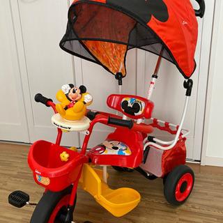 【Disney】ミッキーの三輪車♪