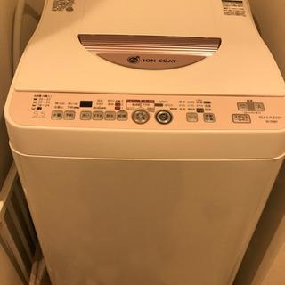 【一人暮らし向け】SHARP 洗濯機