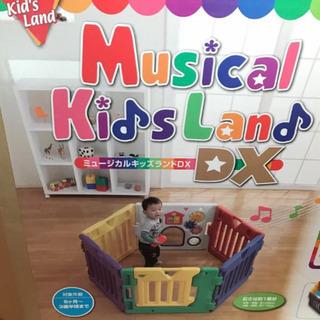 ミュージカル キッズ ランドDX パネル6枚(ベビーサークル