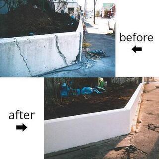 ◆門・塀起こし、石垣の補修工事◆   ◆お見積り無料◆
