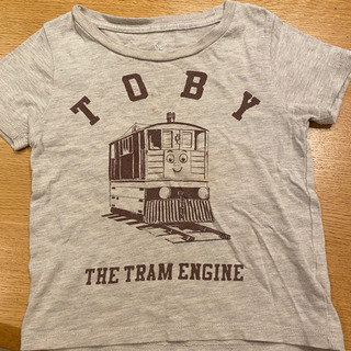 【きかんしゃトーマス】グラニフ 100サイズTシャツ トビー