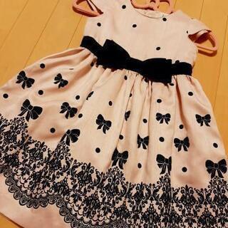美品ワンピースドレス組曲オンワード定価3万5千円