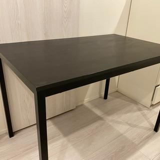 IKEA ダイニングテーブル ブラック