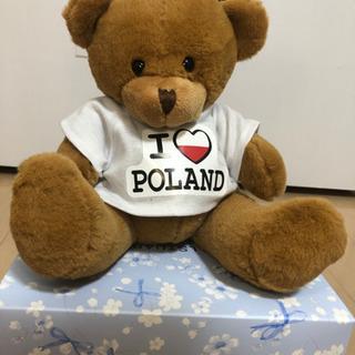 ポーランド くまのぬいぐるみ