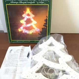 クリスマスツリー型 シルエットライト