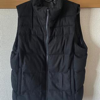 ユニクロ ベスト ジャケット 黒 良品