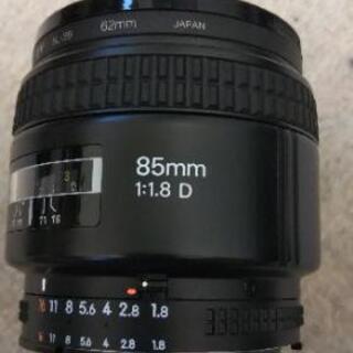 Ai AF Nikkor 85㎜ F1.8D 単焦点レンズ※保護...